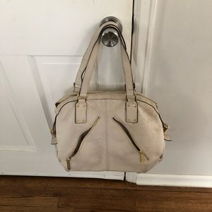 Michael Kors white/ off white purse